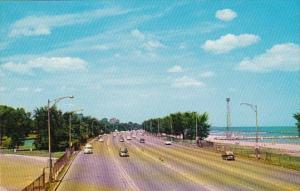 Illinois Chicago Outer Drive Near North Avenue Beach