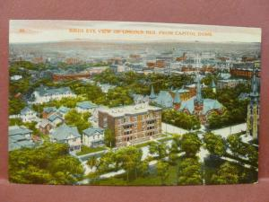 Old Postcard NE Lincoln Birds Eye View from Capitol Dome #2