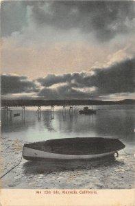 F81/ Alameda California Postcard c1910 Ebb Tide Boat Dock