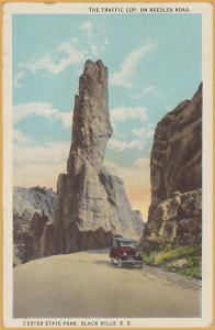 Black Hills, South Dakota-Custer State Park, The Traffic Cop, L.B. Hollister