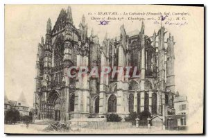 Old Postcard Beauvais Cathedral Ensemble Southern Foothills