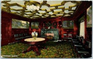 Chicago IL Postcard CONGRESS HOTEL AND ANNEX English Room View c1910s Unused