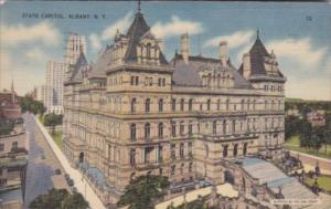 State Capitol Building Albany New York 1942
