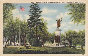 Francis Scott Key Grave and MonumentFrederick Maryland