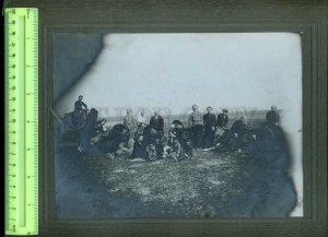 231009 RUSSIA CENTRAL ASIA CAMELS & group of people BIG PHOTO