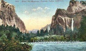 Bridal Veil Meadows - Yosemite Valley, CA