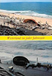 Westerland zu Jeder Jahreszeit Insel Sylt, Sea Storm, Beach Promenade