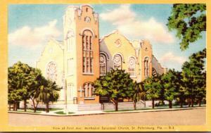 Florida St Petersburg First Avenue Methodist Episcopal Church Dexter Press
