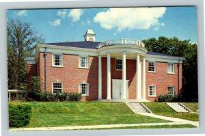 Wheaton IL-Illinois, McAlister Conservatory Of Music, College, Chrome Postcard
