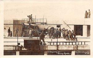 Disappearing Gun Navy Ramming Projectile World War 1 1915