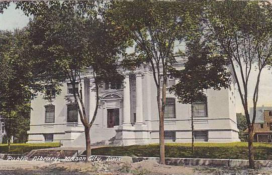 Public Library, Mason City, Iowa, PU-1908