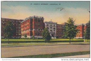 Hospital St Joseph's Infirmary Louisville Kentucky 1950
