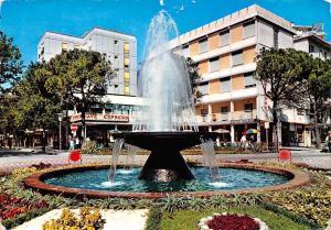 Italy Lignano Sabbiadoro Fountain Square 1966