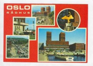 OSLO, 5-View, City Hall, Aerial View, Norway, 50-70s