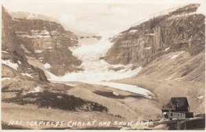 RP; ALBERTA, Canada, 1920-40s; Icefields Chalet and Snow Dome