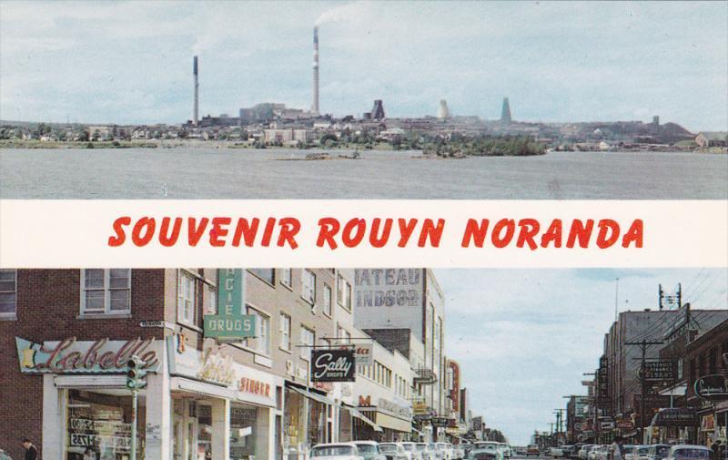 Rouyn Noranda , Quebec , Canada , 50-60s