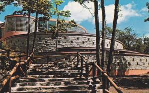 Staircase, The Aquarium of Quebec, Restaurant and Cinema, Quebec, Canada, 40-...