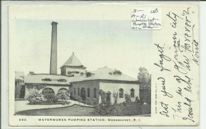 Woonsocket, R.I., Waterworks Pumping Station ++Glitter++