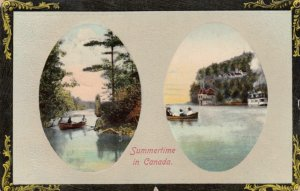 Summertime in CANADA, 1913; Two-views