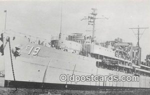 Reproduced from Original Photo USS Proteus AS 19 Oakland, CA Unused