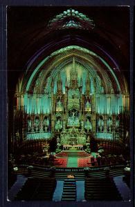 Interior View of Notre Dame Church,Montreal,Quebec,Canada BIN
