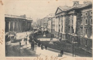 DUBLIN , IRELAND ,1903 ; Trinity College