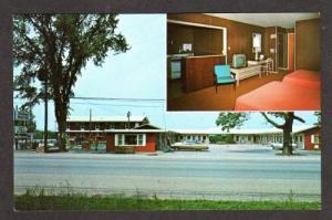 VT Sandman Motel Hotel BURLINGTON VERMONT Postcard PC