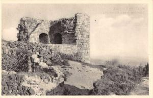 Czech Slovakia Kumburka Ruins Scenic View Antique Postcard J77517