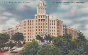 Arkansas Hot Springs U S Army and Navy Hospital