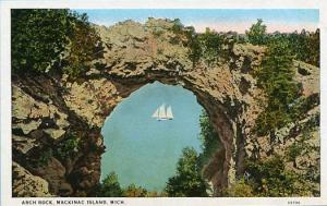 MI - Mackinac Island. Arch Rock