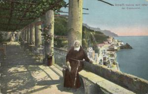 italy, AMALFI, Veduta dall' Hotel dei Cappuccini 1910s