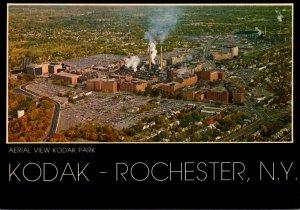 New York Rochester Aerial View Kodak Park