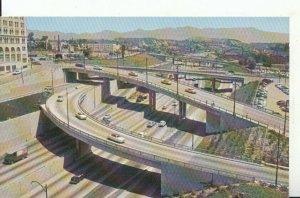 America Postcard - Harbor Freeway - Los Angeles - California - Ref 18201A