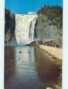 Unused Pre-1980 TOWN VIEW SCENE Quebec City QC p9143
