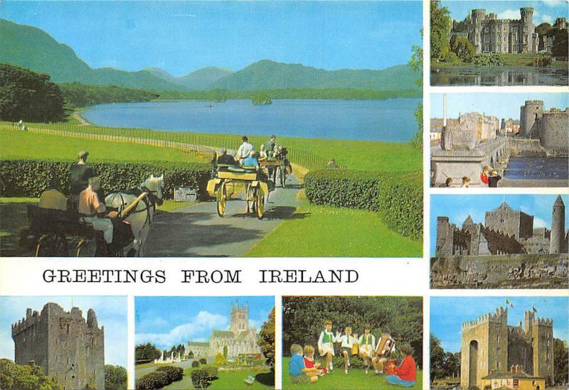 Greetings from Ireland Christian Churches Mediaeval Monasteries Castle Ruins