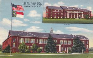 ELIZABETH CITY , North Carolina , 30-40s ; Moore Hall , State Teachers College