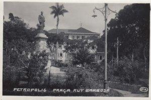 RP: PETROPOLIS , Brazil , 1910-30s ; Praca Ruy Barrosa