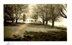 NH -Canterbury. House at Shaker Village - RPPC