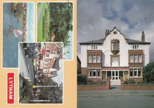 Lytham St Annes Leicester NALGO Convalescent Home 1980s Shops 2x Postcard s