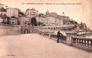 Montee de la Costa Nouveau Quai Monte Carlo Unused