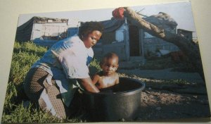 South Africa Sweet homes squatter camp, Cape Town Grow Peace - unposted