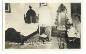 RP Bedroom of Father Alonzo Horton founder of New San Diego