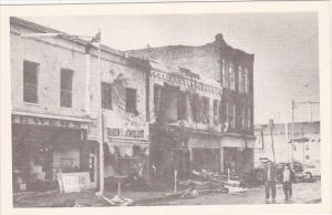 The Super Outbreak, Tornado, Showing Jewelers Store, XENIA, Ohio, April 4, 1974