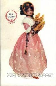 Woman Postcard Postcards
