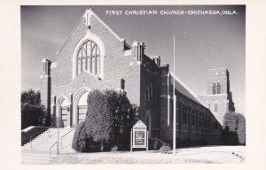 RP: CHICKASHA , Oklahoma , 50-60s ; First Christian Church