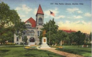 The Public Library Dayton OH Unused