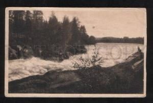 061544 FINLAND Imatra view Vintage real posted PC