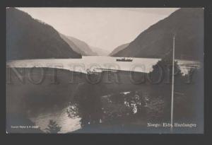 114728 Norge NORWAY Eide HARDANGER Vintage photo PC