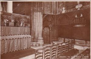 Tucks Chapel Of The Holy Cross Westminster Abbey Series 4 Real Photo