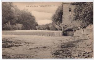 Old Mill Dam, Fredonia KS
